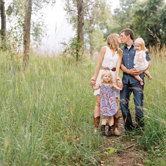 backyard family session