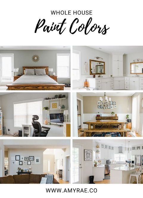 Interior Paint Colors That Flow From Room to Room ...